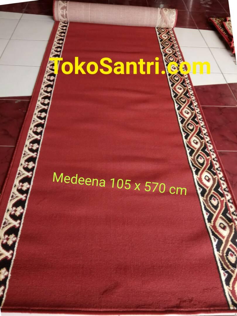 KARPET MEDEENA 105 X 570 MERAH