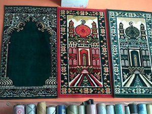 Karpet Sajadah Gambar Masjid isi 10 Gambar